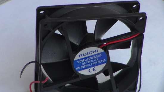 Вентилятор 92x92х25мм 12 ; 0,16А. в Перми Фото 3