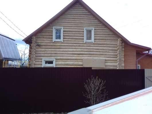 Очистка деревянных домов от краски в Москве Фото 4
