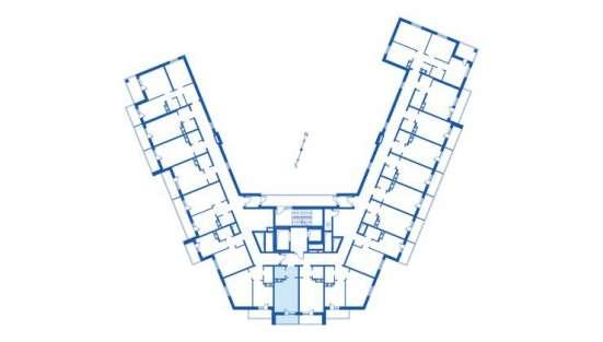 1 комнатная Студия в Мурино