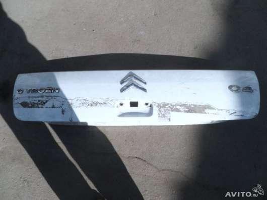 Накладка для багажника на Ситроен С4 купе