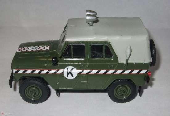 автомобиль на службе №57 Уаз-469 Комендантская служба