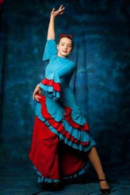 испанское платье для фламенко