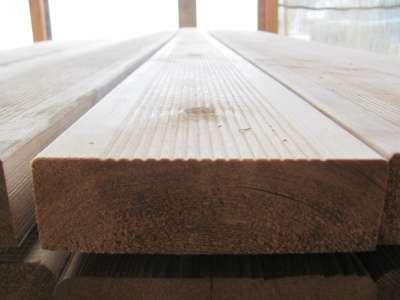 Террасно-палубная доска лиственница