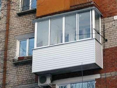 Окна балконы