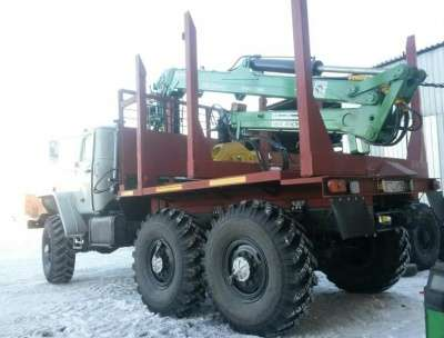 грузовой автомобиль УРАЛ 43204 лесовоз в г. Печора Фото 2