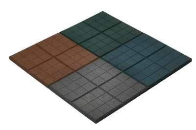 Продаётся резиновая плитка  350х350