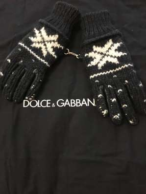 Перчатки D&G в Москве Фото 2