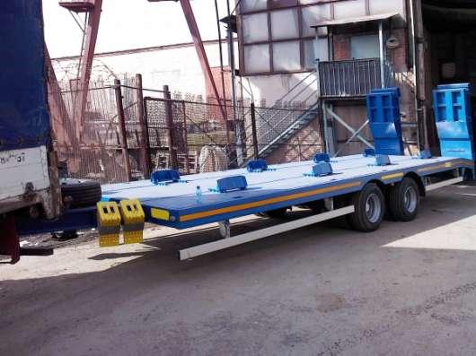 продается тандемный прицеп 2 осный с тентом грузоподъемность 15 тонн, в новосибирске в Екатеринбурге Фото 1