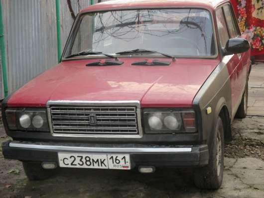 Продажа авто, ВАЗ (Lada), 2107, Механика с пробегом 80000 км, в Таганроге Фото 1