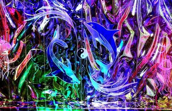 Светодинамические композиции для интерьера