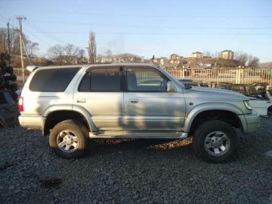 Продажа авто, Toyota, Hilux Surf, Автомат с пробегом 100000 км, в г.Находка Фото 3