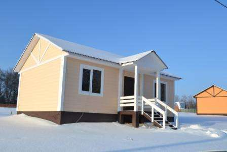 Продается участок 11 соток с новым домом 62 кв. м