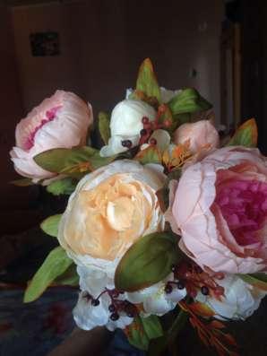 Искусственные цветы / пионы