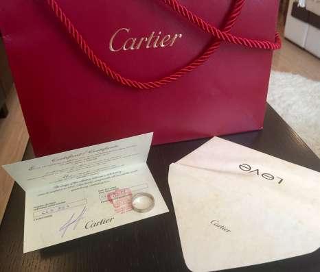 Кольцо Cartier оригинальное в Москве Фото 1