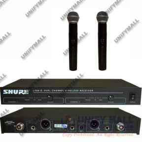 Микрофон SHURE LX88-II радиосистема 2МИК в Москве Фото 1