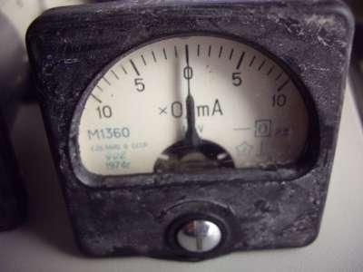 Микроамперметр М1360