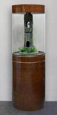 Цилиндрический аквариум (собственное производство) 150л в Миассе Фото 6