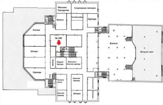 Торговое помещение 58 м2