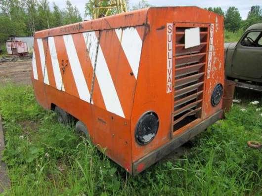 Дизельный компрессор SULLIVAN D750 х 2 шт. в Санкт-Петербурге Фото 5