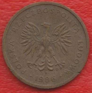Польша 2 злотых 1986 г. Варшавский мондвор в Орле Фото 1