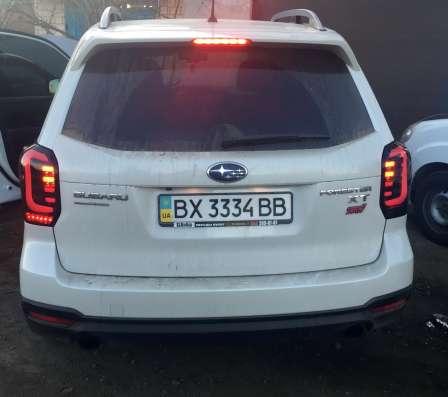Тюнинг фонари задняя оптика Subaru Forester SJ 2013+