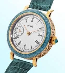 Элитные золотые часы