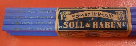 Карандаши дореволюционные Soll Haben карандаш