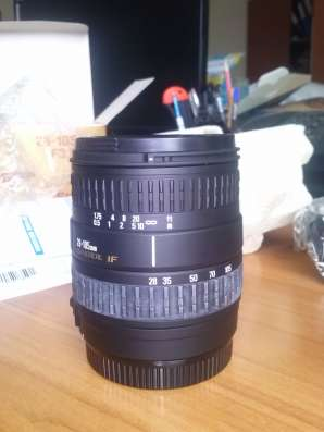 Продам объектив Canon Sigma AF 28-105mm F3.8-5.6 UC-III в Тольятти Фото 5