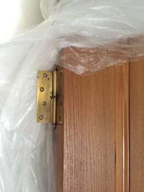 Межкомнатная дверь из массива дуба б/у в Москве Фото 2