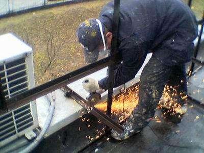 Высотные работы, ремонт фасадов, кровли
