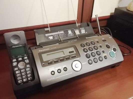 Телефакс Panasonic KX-FC228 - с радиотрубкой на обычной бумаге 4