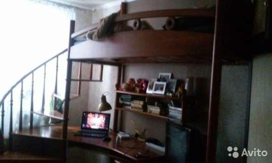 Эксклюзивная двух-ярусная кровать из массива дуба в Москве Фото 4
