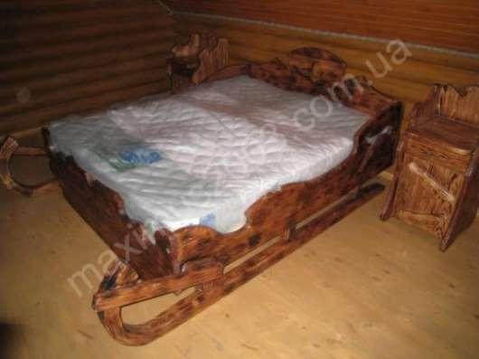 Кровати из дерева под старину в Екатеринбурге Фото 3