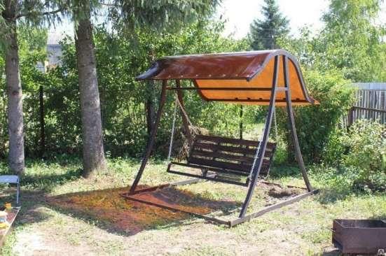 Садовые качели доставка бесплатная