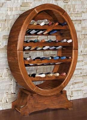 Винный погреб, винный шкаф, бутылочницы из массива