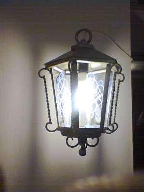 Светильник уличный подвесной в Уфе Фото 3