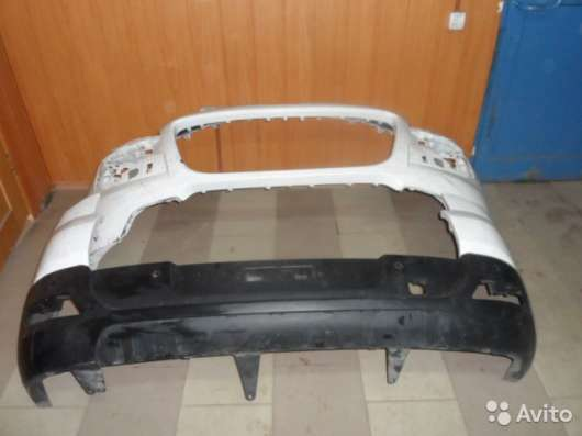 Бампер на Peugeot 3008 комплект задний/передний