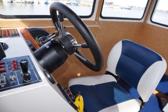 КАлюминиевый катер Баренц 800С в Архангельске Фото 2