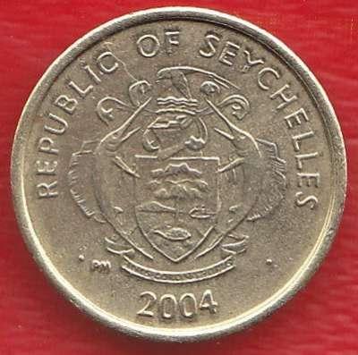 Сейшельские острова 1 цент 2004 г. Сейшелы