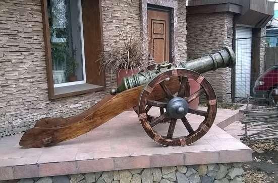 Копия старинной пушки