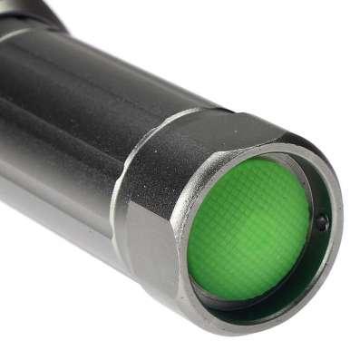Фонарь светодиодный серый