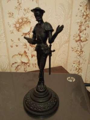 """Дорогое Австрийское пинснэ, бронзовая статуэтка""""донкихот"""""""