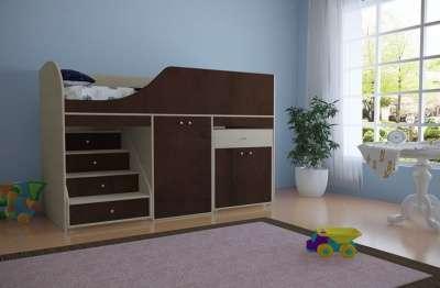 Кровать чердак мини ЧИЖИК