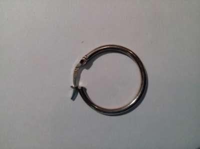 Серьга кольцо