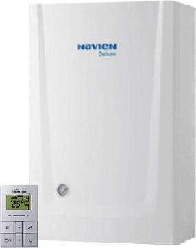 Газовый котел Navien Deluxe 13K White