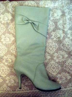 Кожаные демисезонные сапожки, 40 размер в г. Киев Фото 1