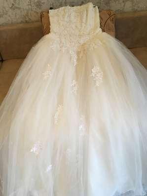 Платье свадебное в Москве Фото 1