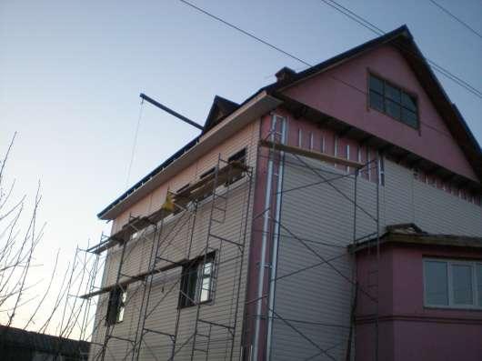 Кровельные и фасадные работы, монтаж мансардных окон