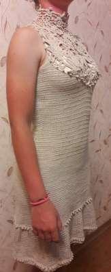 Вечернее платье ручной работы - ирландское кружево