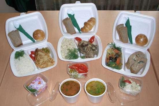 Организация и доставка вкуснейших обедов на предприятии!